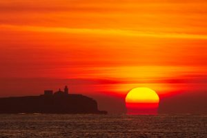 Sunrise, Farne Islands, Bamburgh, Northumberland