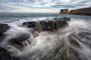 Craster Harbour & Wall, Northumberland