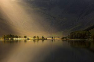 Crepuscular Rays, Buttermere, Lake District