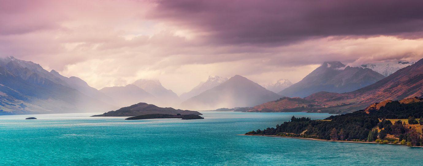 Glenorchy, Lake Wakatipu, Otago, New Zealand - Adobe Stock Image