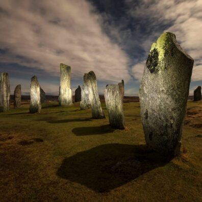 Moonlight, Callanish Standing Stones, Isle of Lewis, Outer Hebrides