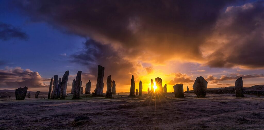 Sunrise, Callanish Standing Stones, Lewis, Outer Hebrides