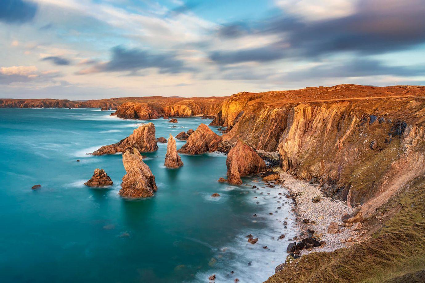 Mangersta Sea Stacks, Isle of Lewis, Outer Hebrides