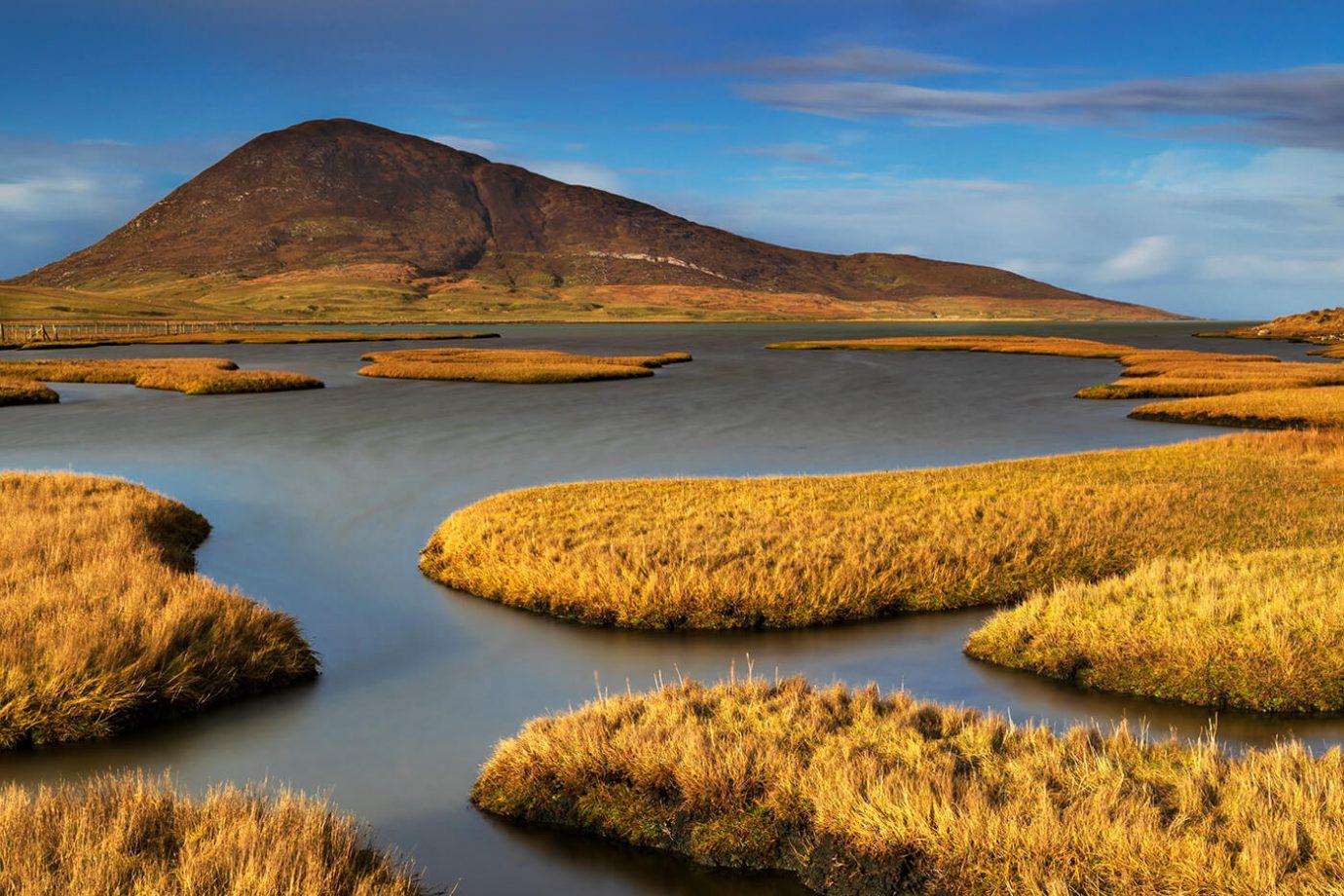 Salt Marshes, Northton, Isle of Harris, Outer Hebrides