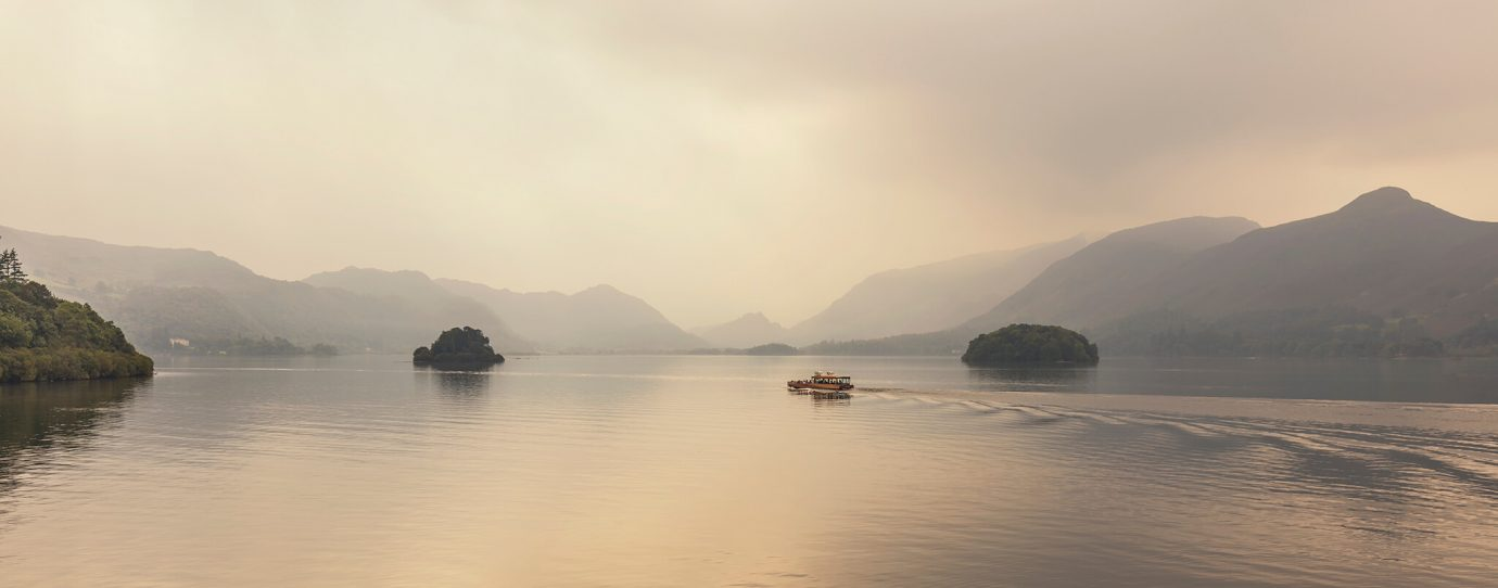 Autumn Mist, Derwentwater, Keswick, Lake District