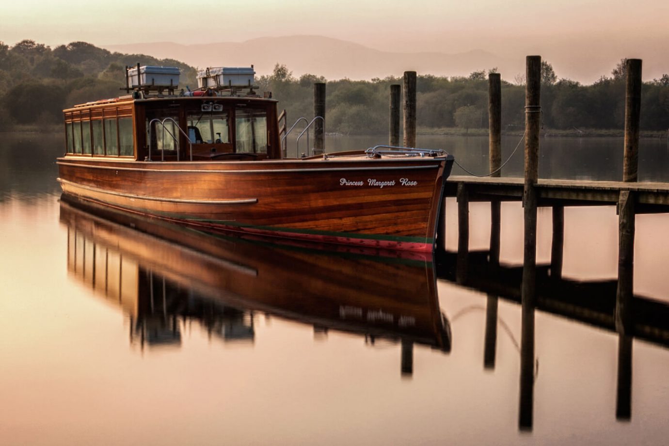 Boat, Derwentwater, Keswick, Lake District