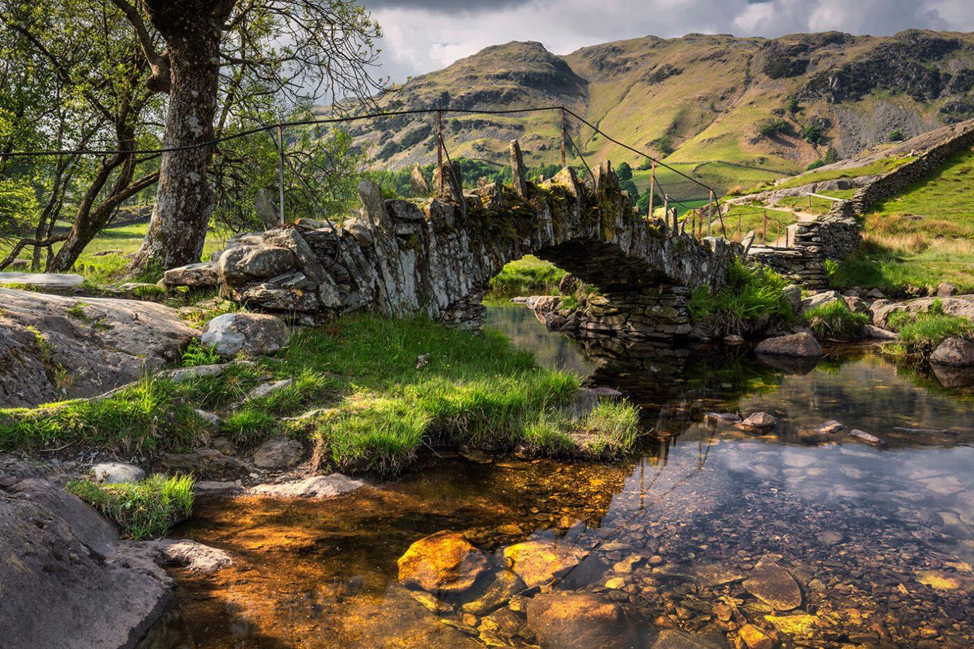 Slater's Bridge, River Brathay, Lake District