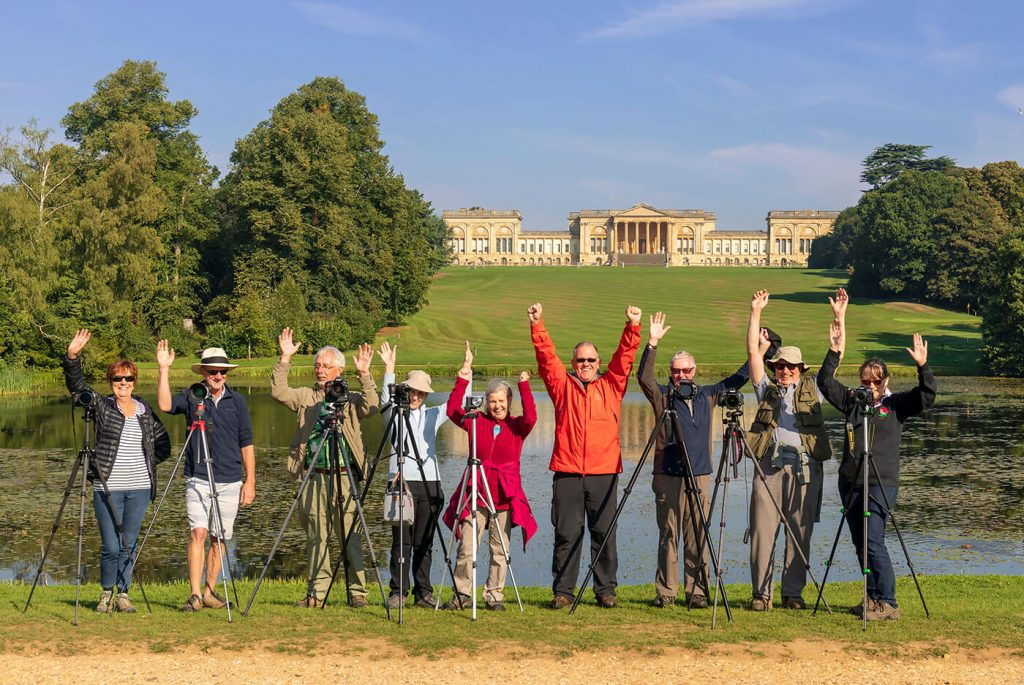 Melvin Nicholson Photography Workshop Attendees, Stowe House, Stowe National Trust
