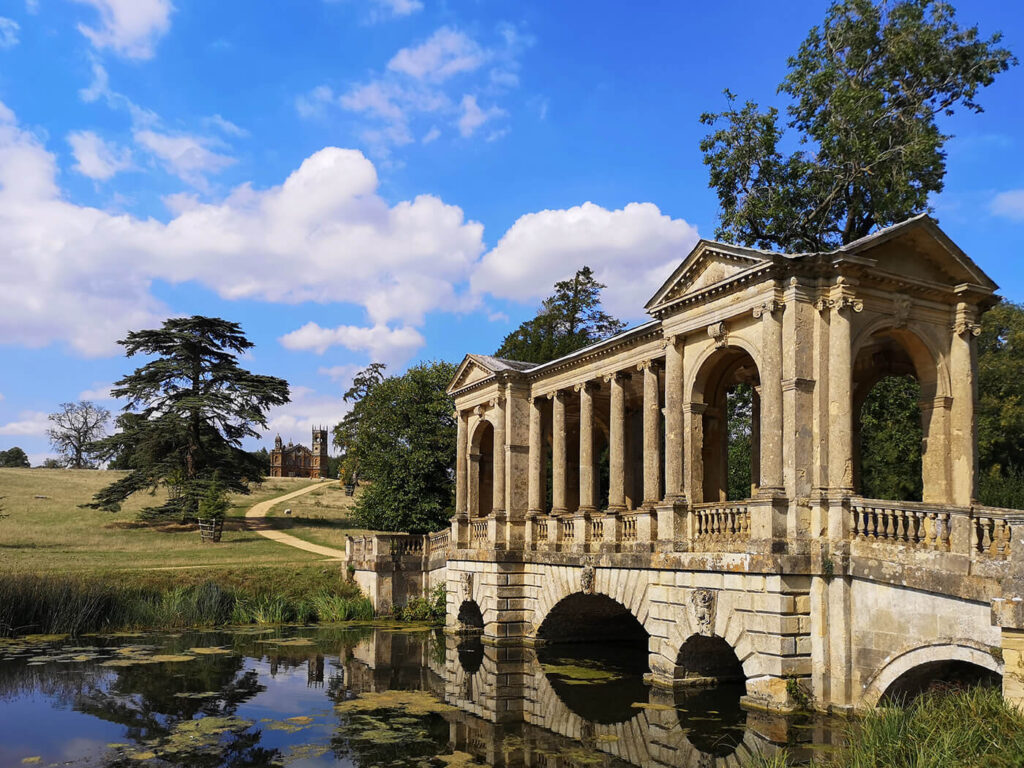 Palladian Bridge, Stowe National Trust