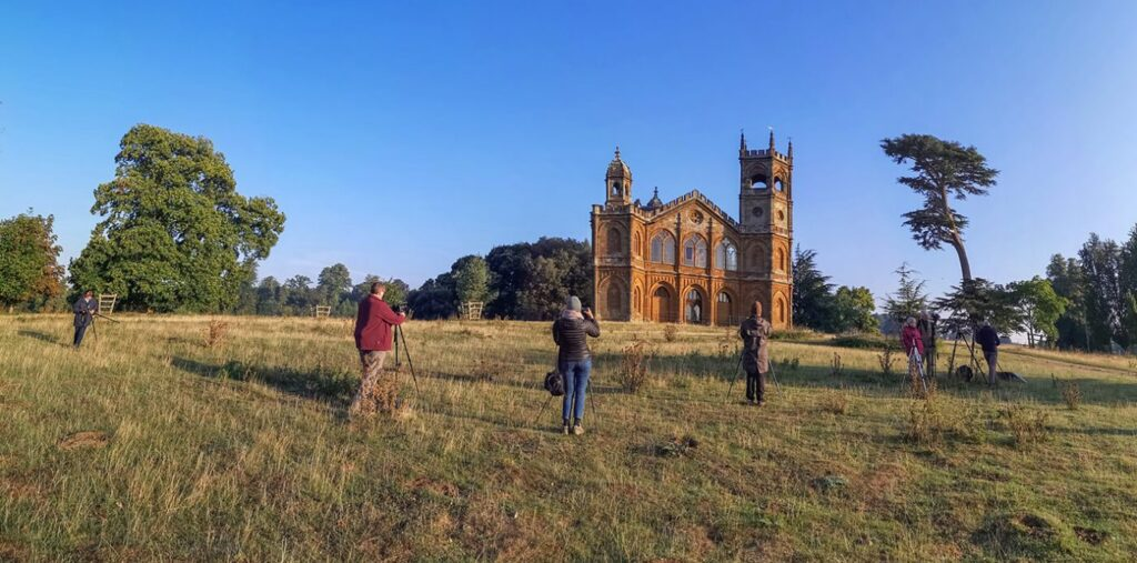 Melvin Nicholson Photography Workshop, Gothic Temple, Stowe National Trust