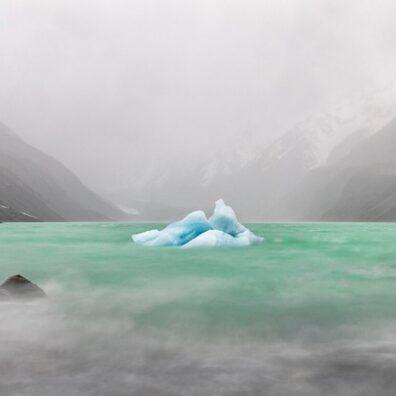 Iceberg, Hooker Glacier Lake, Mt Cook National Park, New Zealand