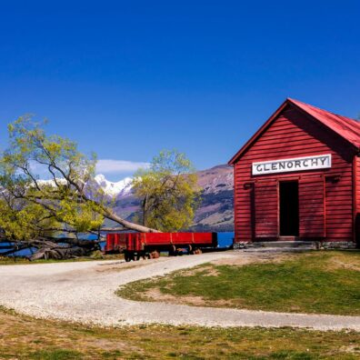 Glenorchy Wharf & Historic Railway Shed, Glenorchy, New Zealand