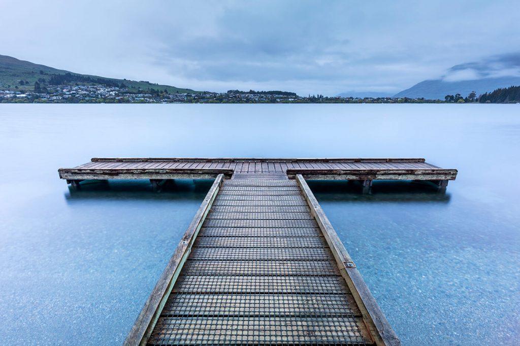 Wooden Jetty, Queenstown, New Zealand