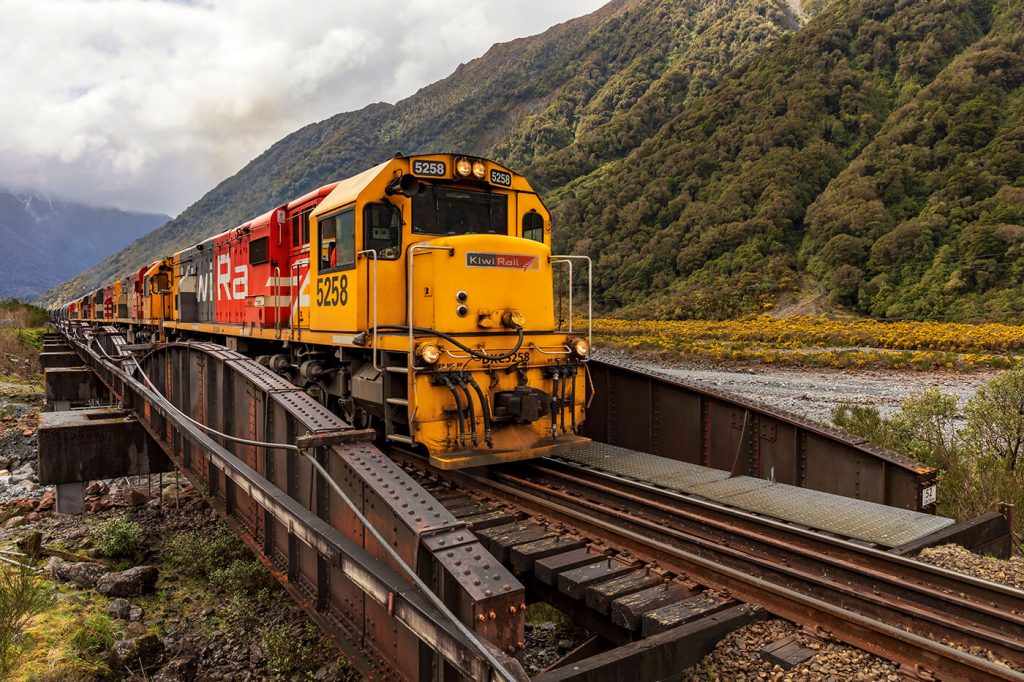 Kiwi Rail, Arthur's Pass, New Zealand