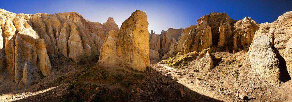 Clay Cliffs, Omarama, New Zealand