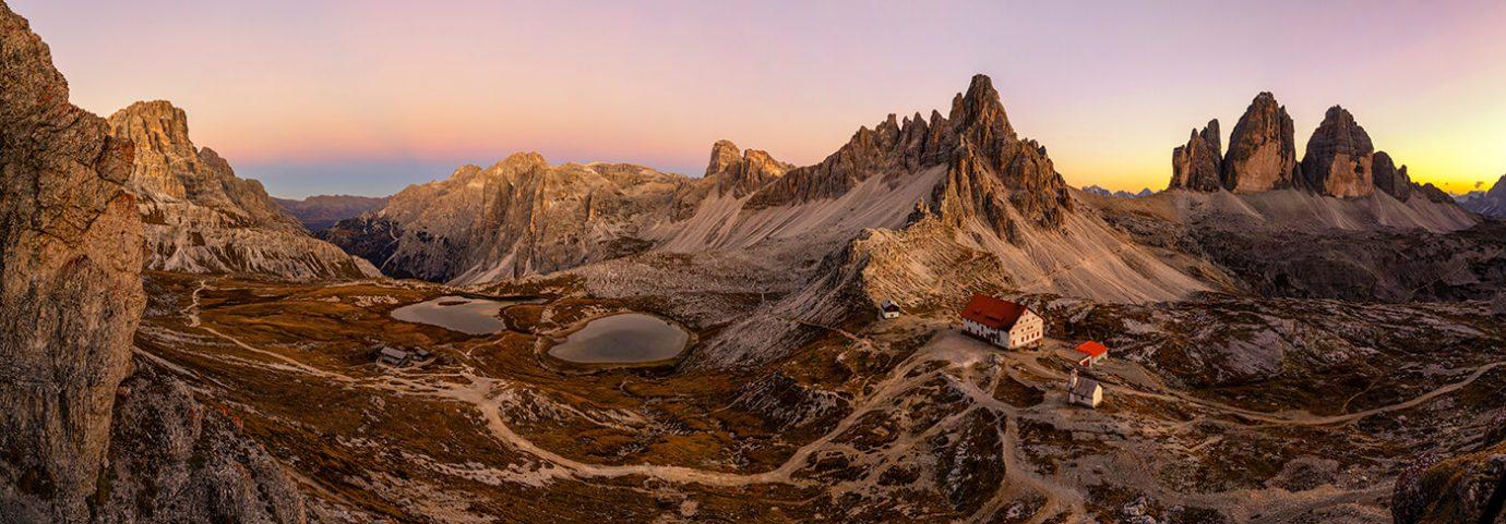 Tre Cime di Lavaredo, Dolomites, Italy, Melvin Nicholson Photography