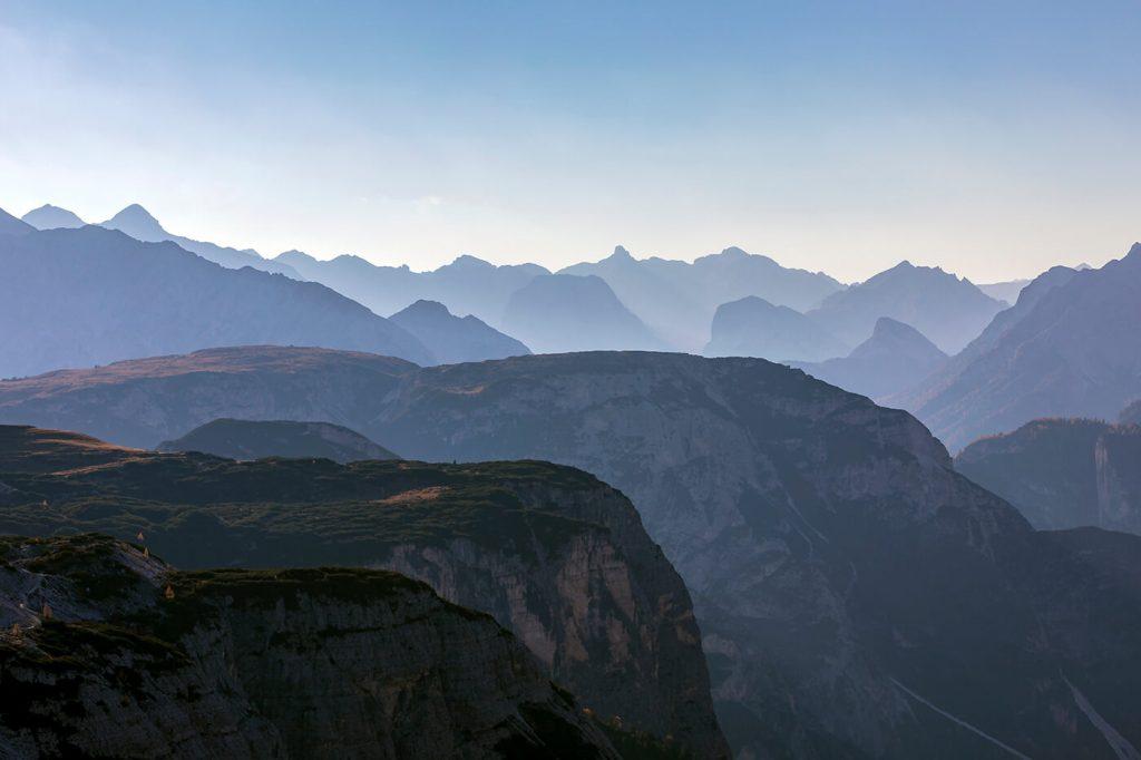 Layers, Tre Cime di Lavaredo, Dolomites, Italy, Melvin Nicholson Photography