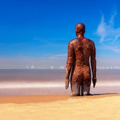 Antony Gormley, Another Place, Crosby Beach, Merseyside