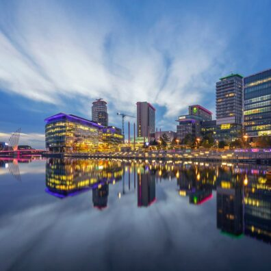 Media City, Salford Quays. Manchester