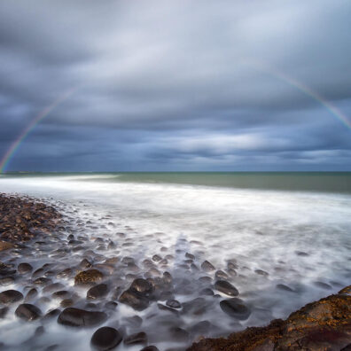 Rainbow, Embleton Bay, Northumberland