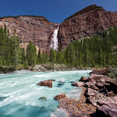 Takakkaw Falls, Yoho National Park, Canadian Rockies. Anne Strickland Photography