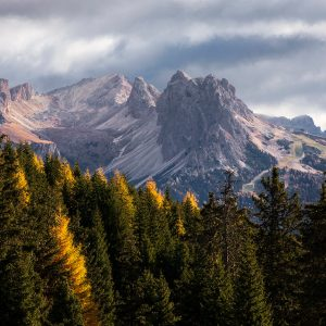 Sassopiatto Plattkofel , Alpe di Siusi, Dolomites, Italy