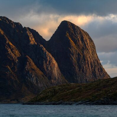 Mountain Light, Reine, Lofoten