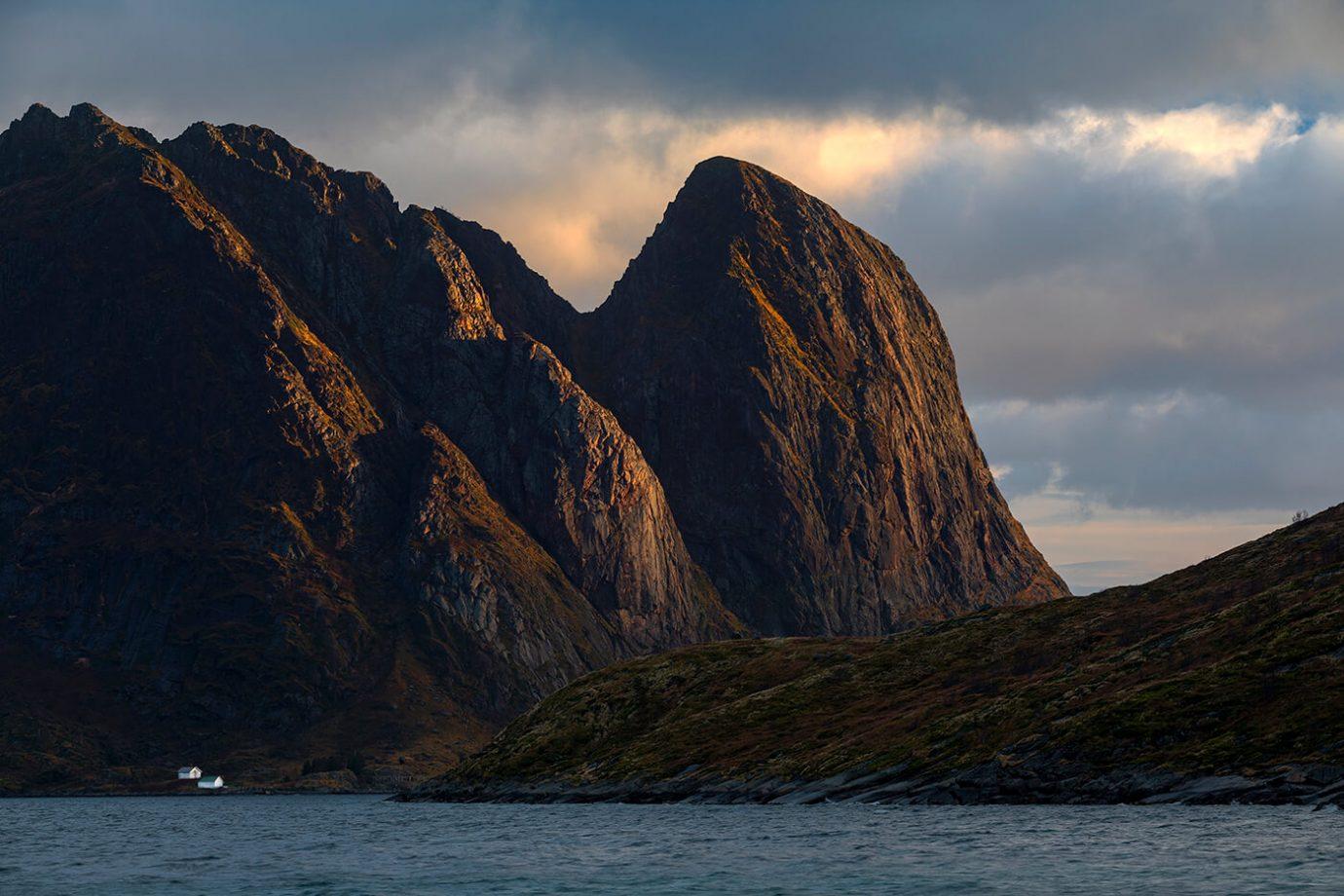 Mountain Light, Reine, Lofoten