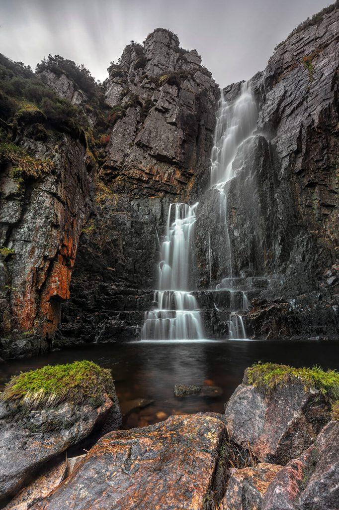 Wailing Widow Falls, Assynt, Scotland