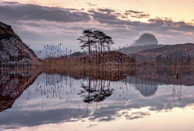 Loch Druim Suadalain, Lochinver, Assynt