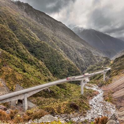 Otira Viaduct Lookout, Arthur's Pass, New Zealand