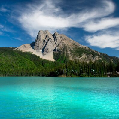 Emerald Lake, Yoho National Park, Canadian Rockies. Anne Strickland Photography