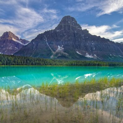 Waterfowl Lake & Mt. Chephron, Banff National Park, Canadian Rockies. Anne Strickland Photography
