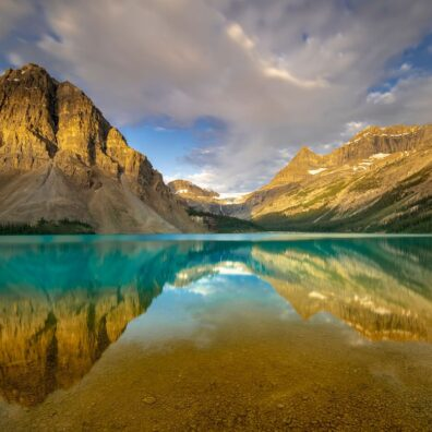 Bow Lake, Banff National Park, Canadian Rockies. Anne Strickland Photography