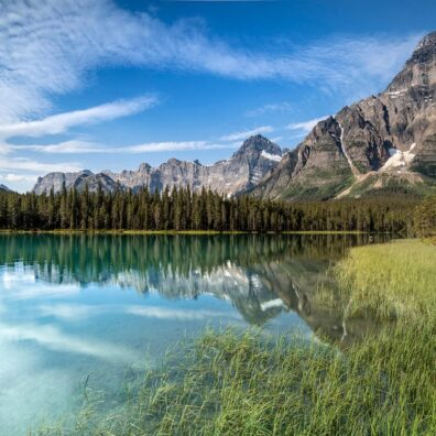 Waterfowl Lake, Banff National Park, Canadian Rockies. Anne Strickland Photography