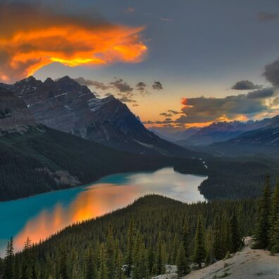 Peyto Lake, Banff National Park, Canadian Rockies. Anne Strickland Photography