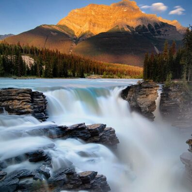 Athabasca Falls, Icefields Parkway, Jasper National Park, Canadian Rockies. Anne Strickland Photography