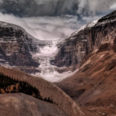 Athabasca Glacier, Jasper National Park, Canadian Rockies. Anne Strickland Photography
