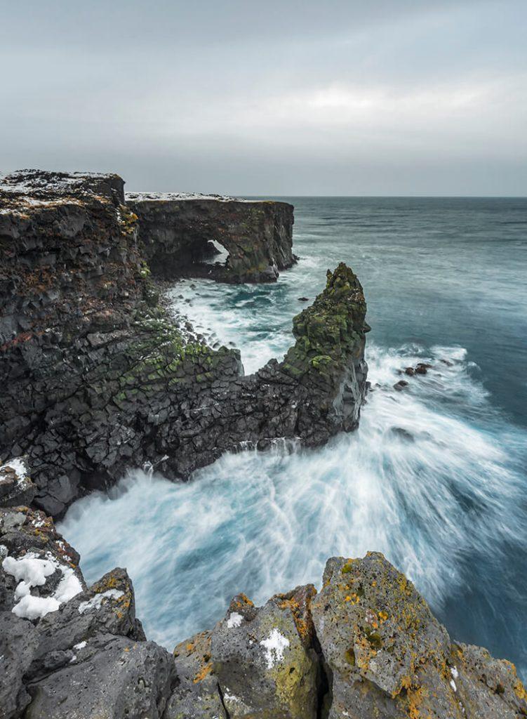 Svörtuloft Cliffs & Sea Arch, Snaefellsnes Peninsula, Iceland, Melvin Nicholson Photography