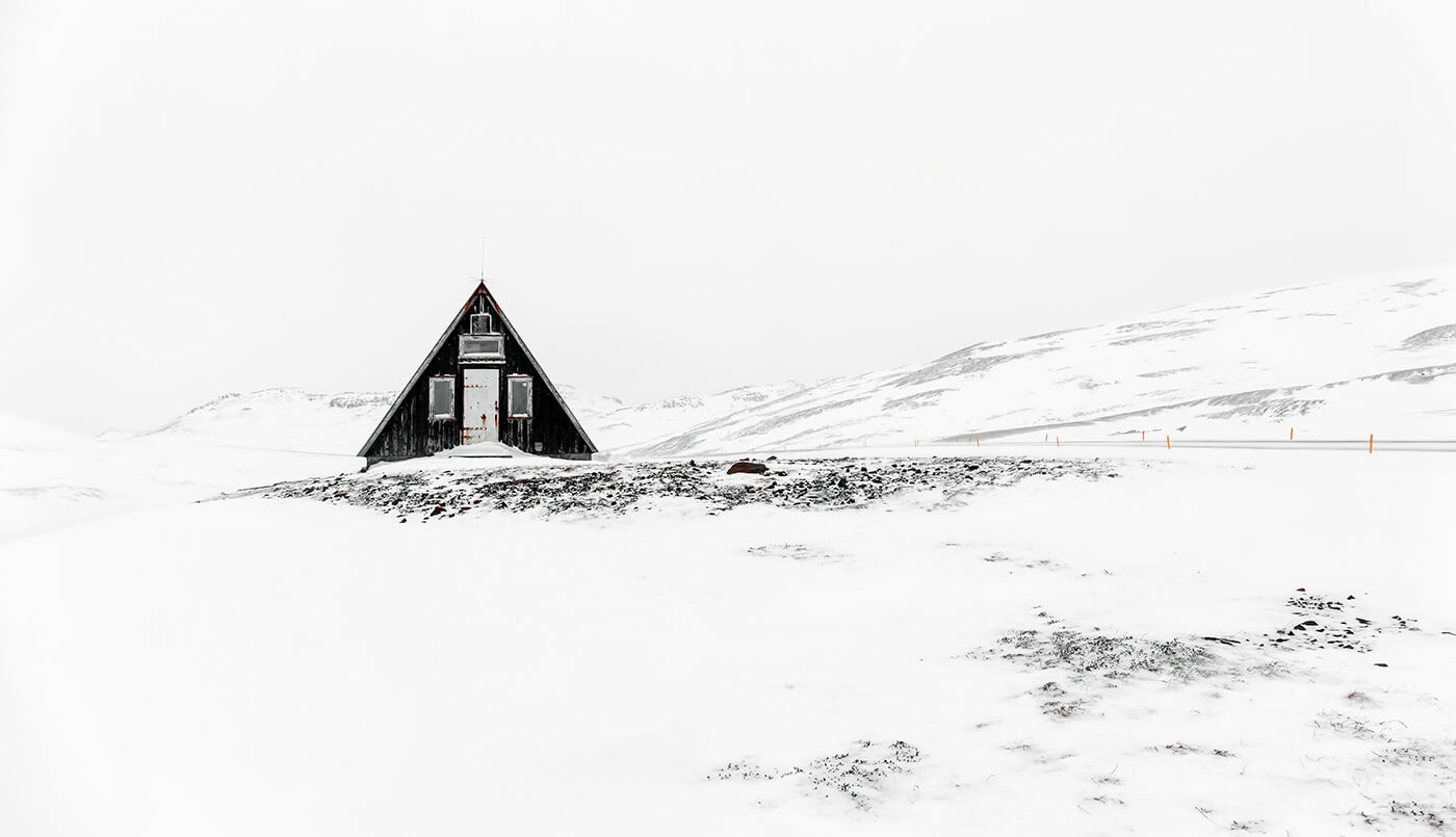 Emergency Mountain Shelter, Snaefellsnes Peninsula, Iceland, Melvin Nicholson Photography