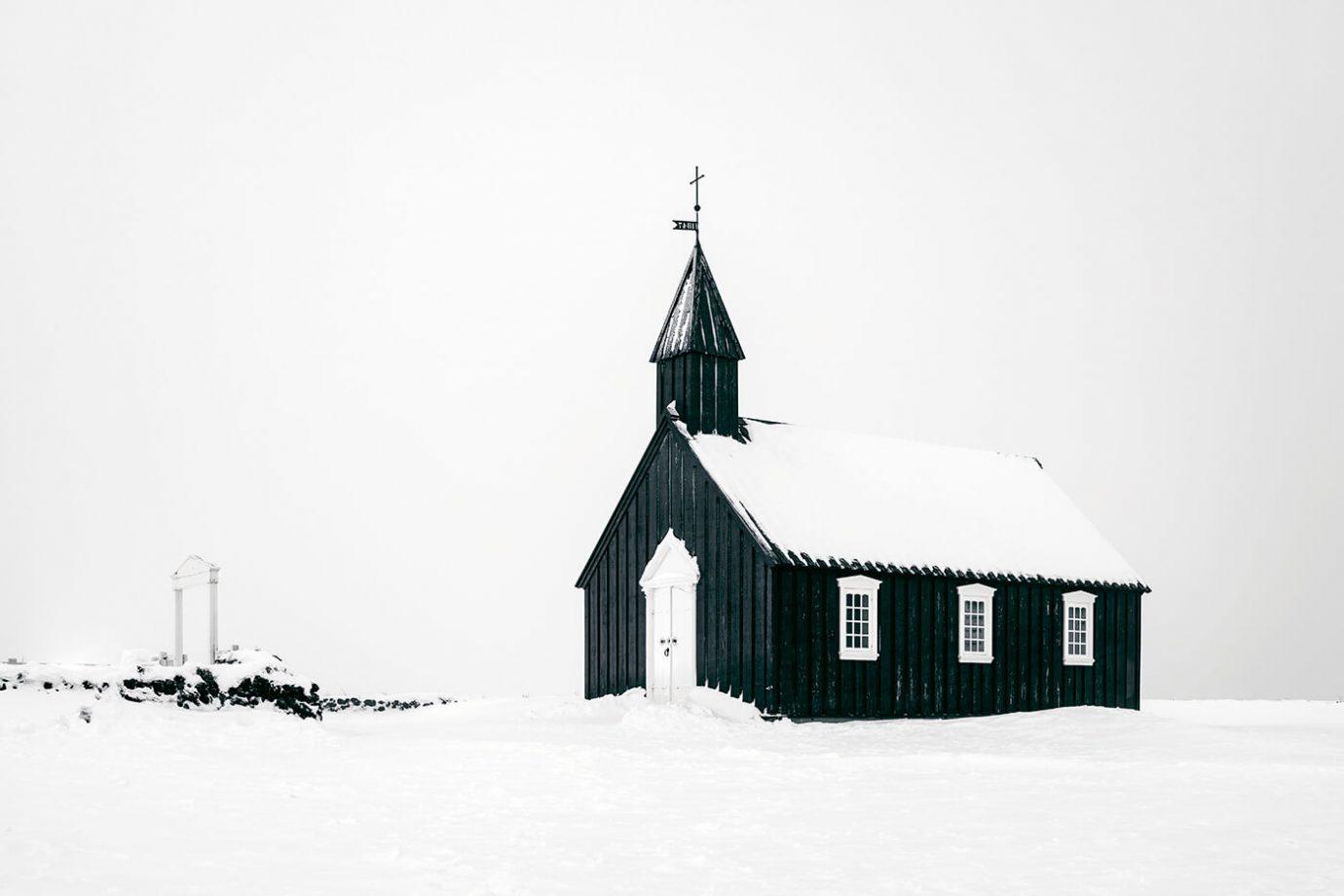 Budir Church, Snaefellsnes Peninsula, Iceland, Melvin Nicholson Photography