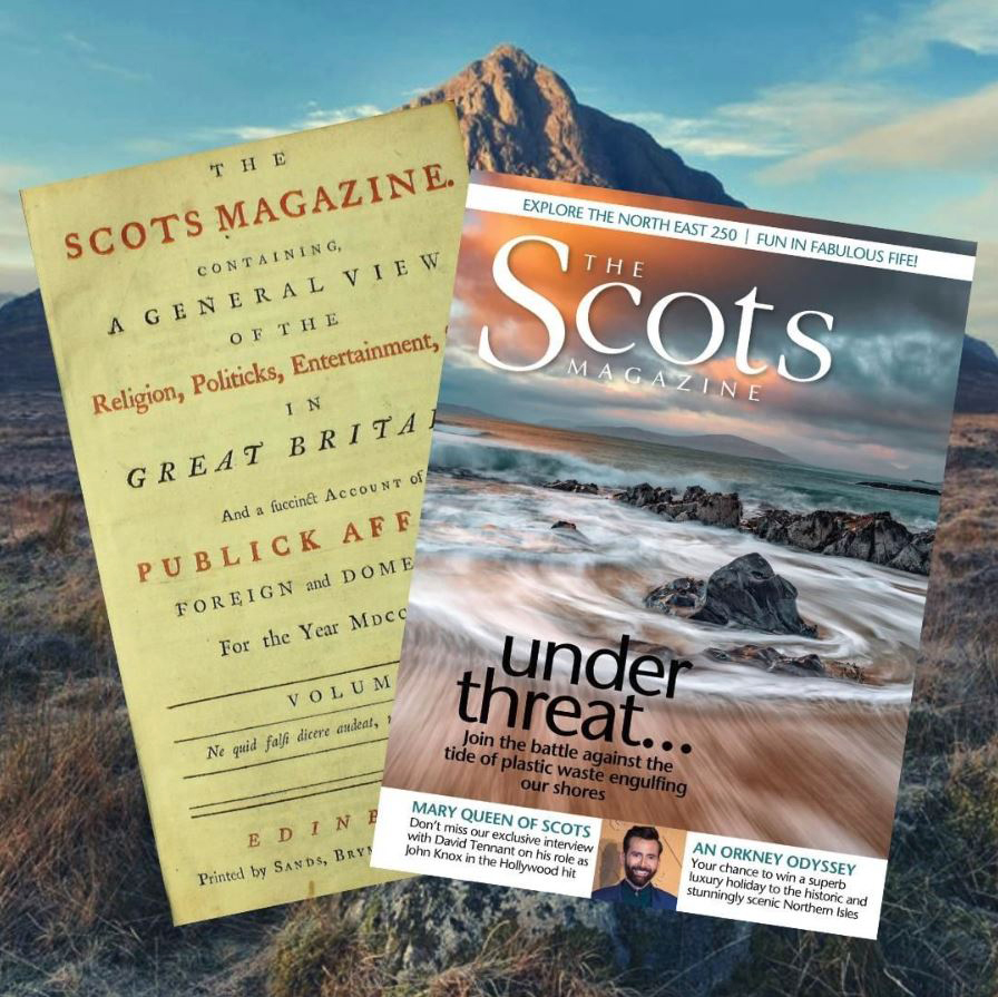The Scots Magazine - February 1739 and March 2019 Editions