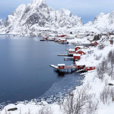 Red Rorbuers, Reine, Lofoten, Norway