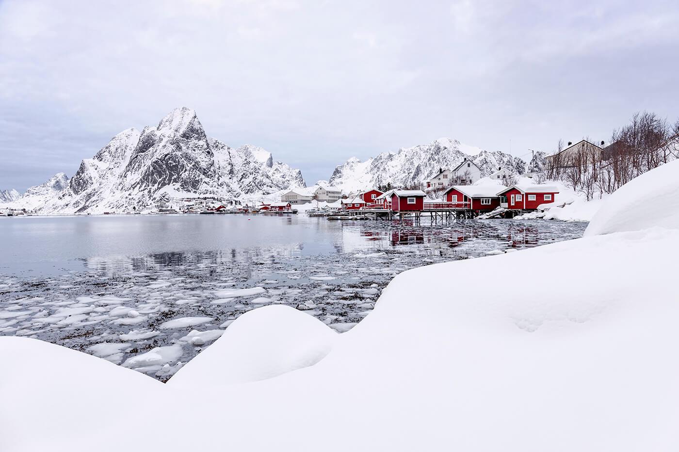 Red Rorbuers, Reine, Lofoten, Norway