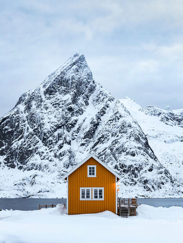 Lilandstinden, Sakrisoy, Lofoten, Norway