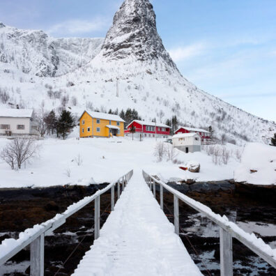 Daniel's Bridge, Reine, Lofoten, Norway