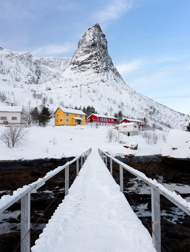 Daniel's Bridge, Reine, Lofoten, Norway