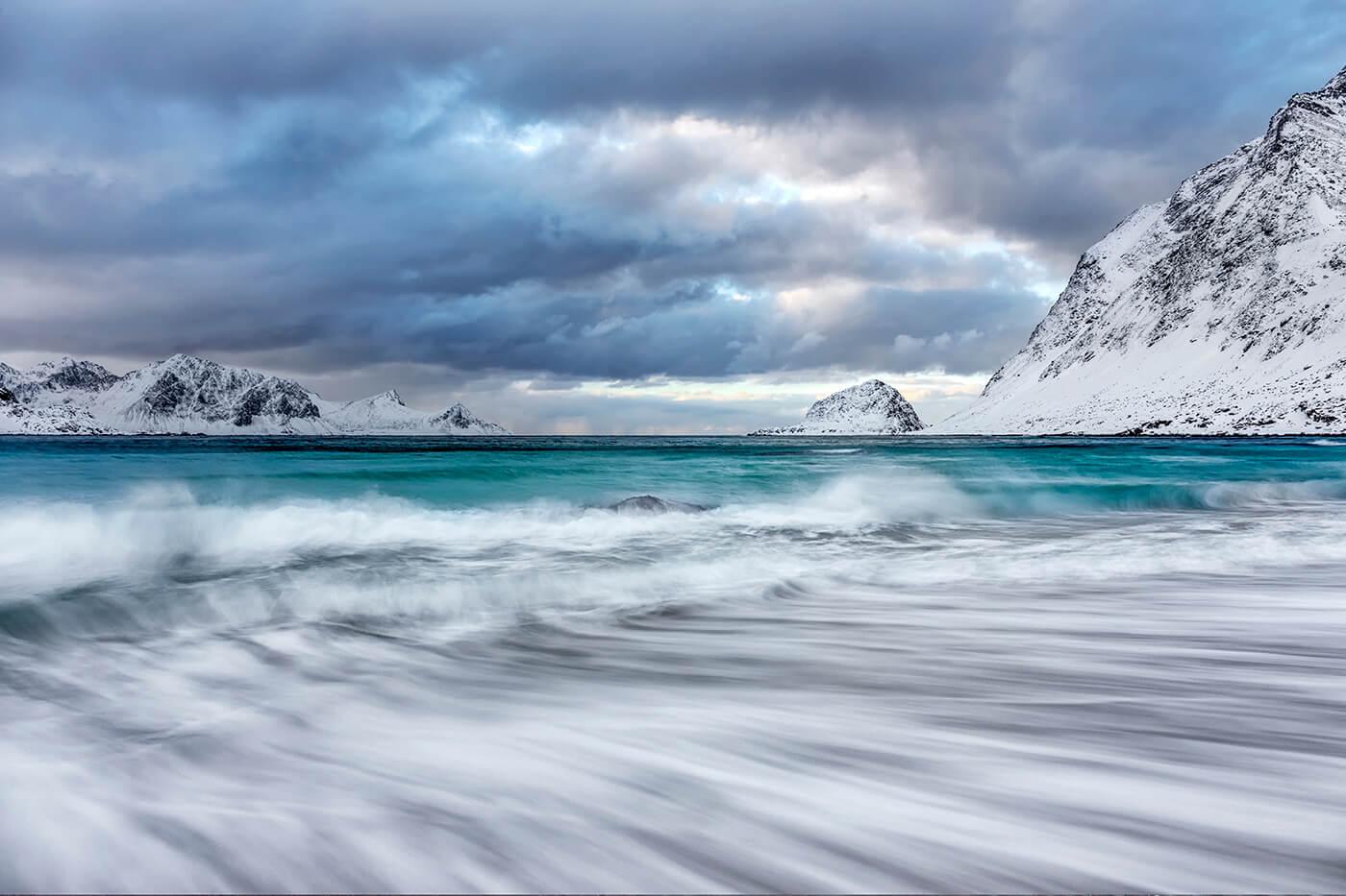 Haukland Beach, Lofoten, Norway