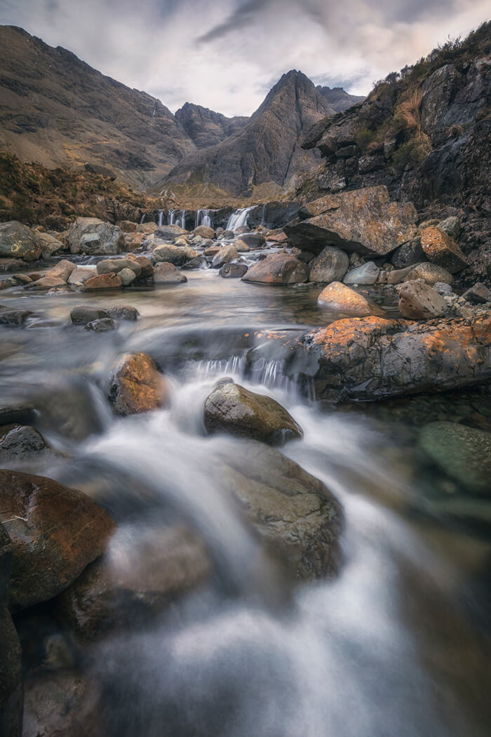 Glen Brittle River, Fairy Pools, Isle of Skye, Scotland