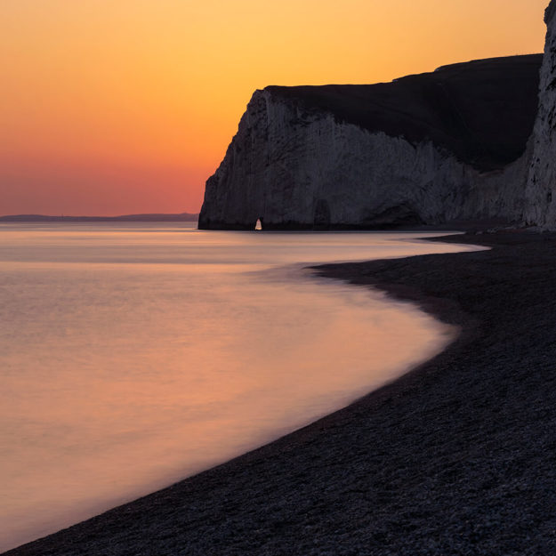 Sunset, Bat's Head, Dorset
